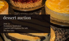 Dessert Auction