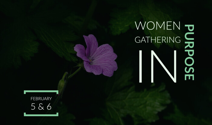 Women Gathering in Purpose Conference - Feb 5 2021